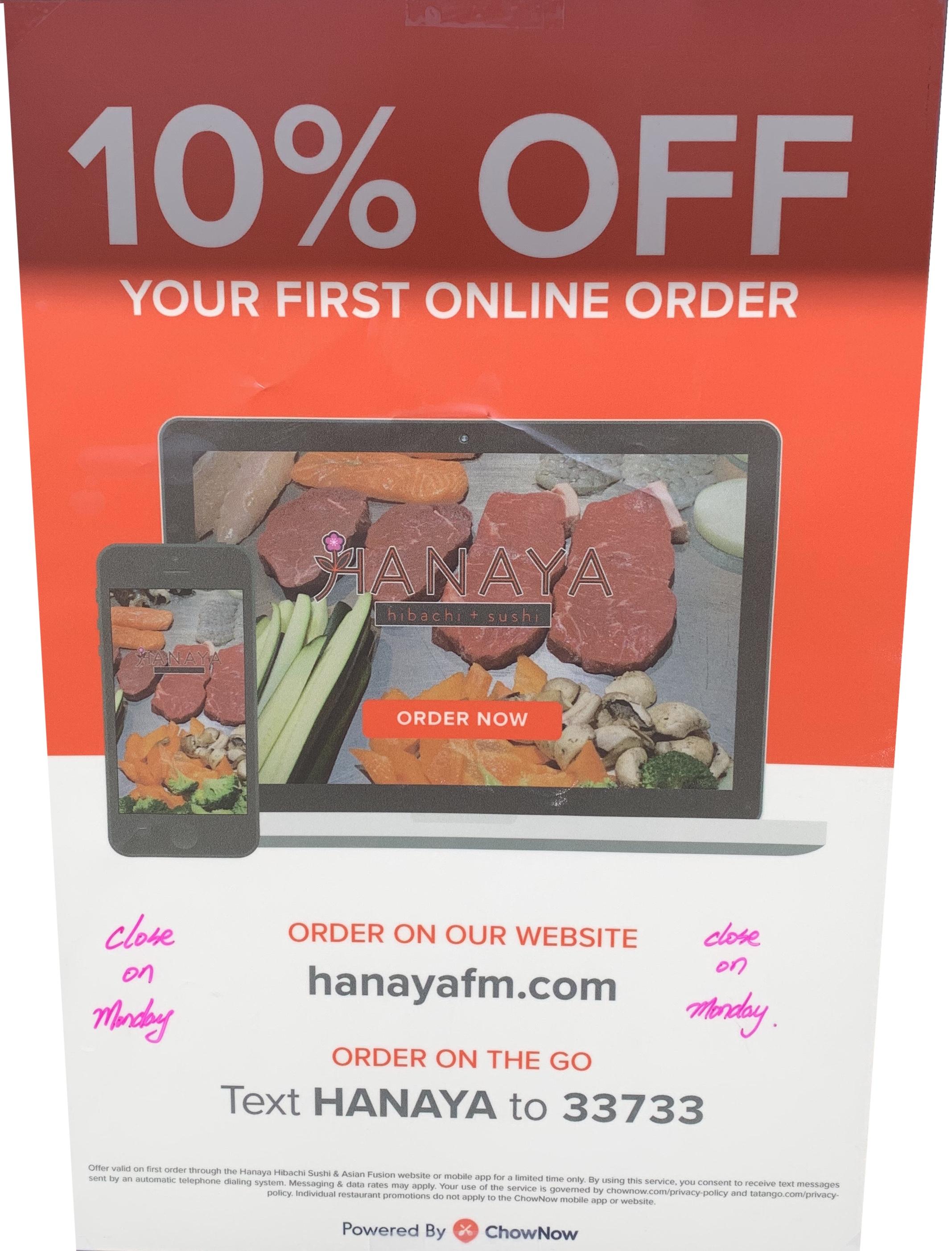 10% Off Order